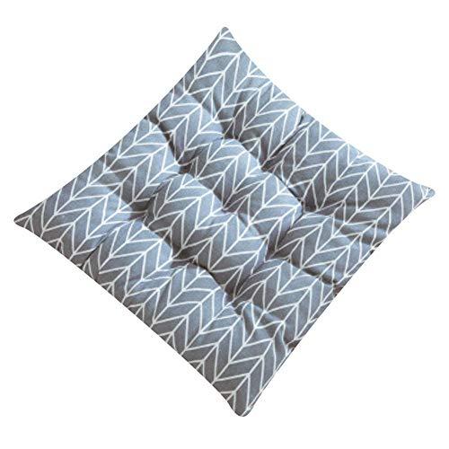 Cosanter 40x40 cm Fibre de Polyester Coussin de Chaise Galette de Chaise Chair Cushion Décoration de Meubles de Jardin pour chaises de Cuisine Jardin