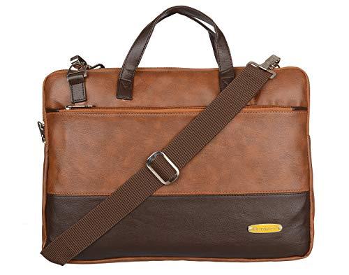GOOD FRIENDS Blowzy Bags Laptop Messenger Bags for Men, Laptop Bags for Womens, Laptop Bag for Men, Office Bags for Man, Laptop Briefcase, 15.6 inch Laptop Bag