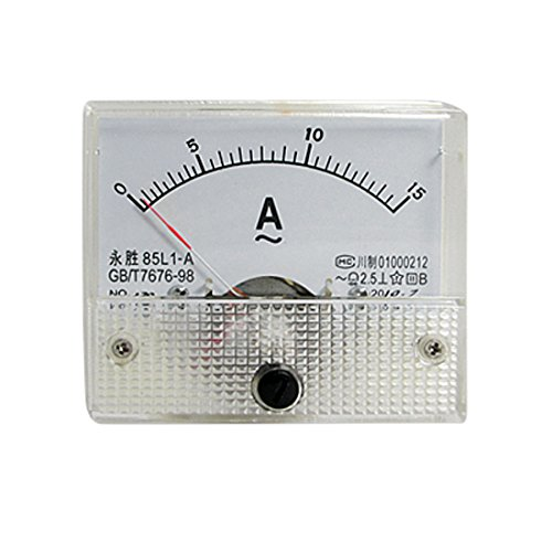 Klasse 2,5 AC 0-15A Genauigkeit Analog Amperemeter Panel 85L1-A de