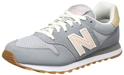 New Balance Damen 500 Sneaker, Grau (GW500HHJ), 39 EU