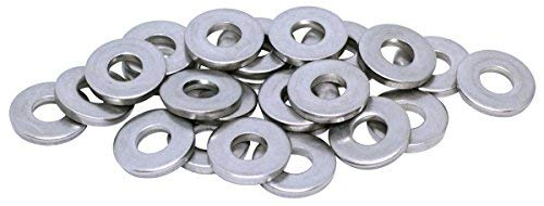 25pcs 8mm Extra Thick Stainless Steel Metric General Purpose Flat Washer DIN 7349 by BelMetric WC8X21SS