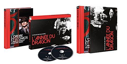 L'Année du Dragon [Édition Coffret Ultra Collector-Blu-Ray + DVD + Livre]
