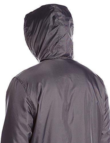 Dickies Men's Fleece Lined Hooded Jacket, Charcoal, XX-Large