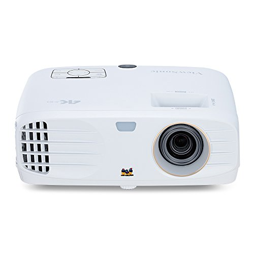 ViewSonic PX727-4K True 4K Home Theater Projector with Wide Color Gamut RGB Rec 709 HDR Support and Dual HDMI, Stream Netflix with Dongle