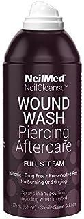 NeilMed Wound Wash Piercing Aftercare 177ml by NeilMed