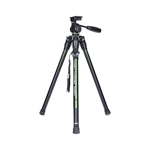 Rollei Smart Traveler Video I VerdeI Ligero Smartphone Video Tripod I Incl. Bluetooth Remote I trípode de Viaje Ideal para cámara DSLM y Actioncam