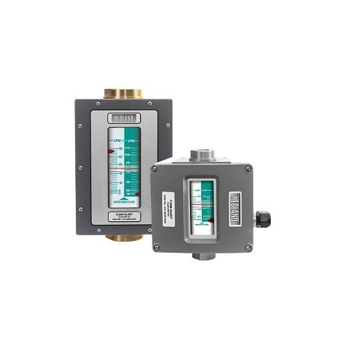 Hedland Flow Meters (Badger Meter Inc) H713A-002-F2 - Flow Rate Hydraulic Flow Meter - 2 gpm Max Flow Rate, SAE-12 3/4 NPTF in Port Size