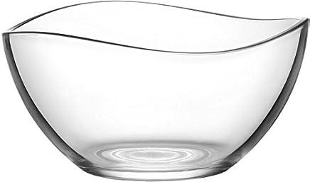 Preisvergleich für LAV Glasschale Schale Salatschale Dessertschale 1880 ml Vorspeise Glas Durchmesser 210 mm Vira
