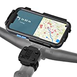 Wicked Chili Tour Case 3.0 Fahrradhalterung kompatibel mit iPhone 12/12 Pro - Version Light mit Kabelbinder und Schnellverschluss Schutzhülle passgenau, abnehmbar, Displayschutz, Hoch-/Querformat