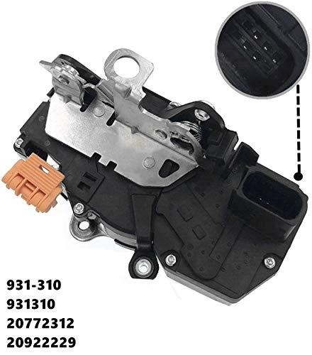 HZTWFC Actionneur de verrouillage de porte, moteur avant gauche OEM # 931-310 931310 20772312 20922229 pour Chevy Malibu 08-12 Saturn Aura 07-09