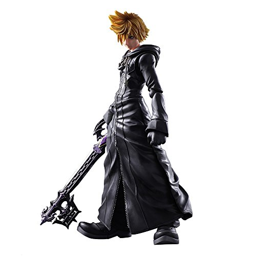 Square Enix Abysse Corp_AFGSQX266 Kingdom Hearts Ii – Plai Arts Kai Roxas Organization XIII Version, Mehrfarbig