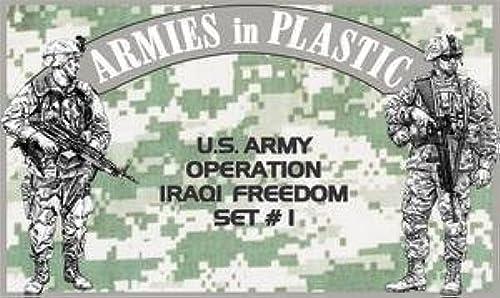100% precio garantizado US Army Operation Iraqi Iraqi Iraqi Freedom Set  1 (18) 1 32 Armies in Plastic by Armies in Plastic  la calidad primero los consumidores primero