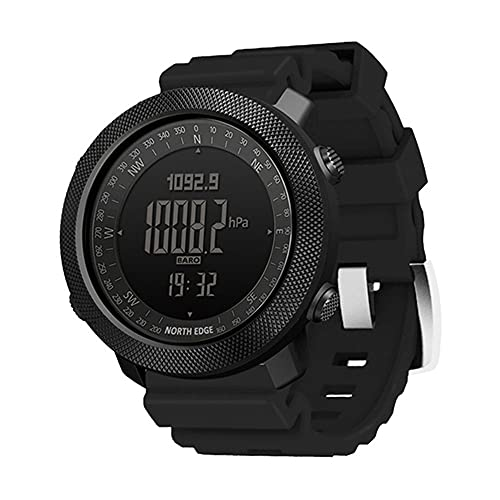 HXHH Outdoor Sports Smart Watch, Silicone Tactical Watch With Altimeter,...