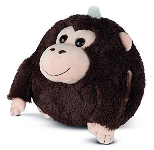 COZY NOXXIEZ Calentador de manos para niños de peluche – Peluche de peluche, almohada como cojín de calor suave para cama, coche y hogar (Gorilla)
