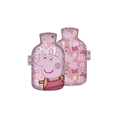 Wärmeflasche Auswahl Kinderwärmflasche Wärmekissen Heizkissen Wärmflasche Frozen Einhorn Lama Micky Maus Minnie Maus Die Eiskönigin Spiderman Flamingo (Peppa Pig)