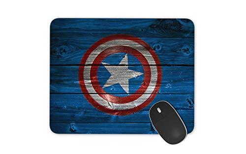 JNKPOAI Captain America Mouse Pad Marvel Mouse Pad (quadratus, Marvel)