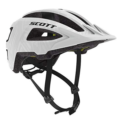 Scott Groove Plus MIPS Fahrrad Helm weiß 2020: Größe: S/M (52-58cm)