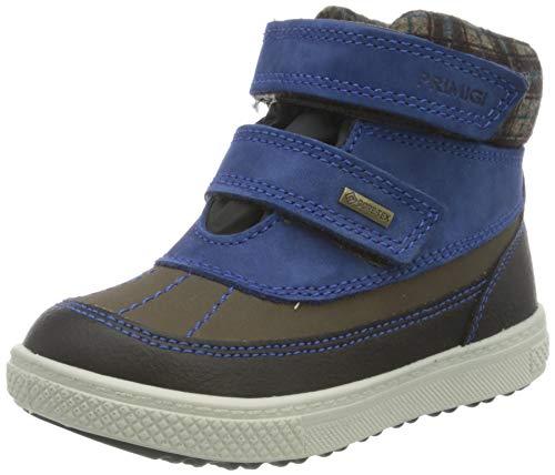 Primigi Unisex Baby PBZGT 63601 First Walker Shoe, Bluet Ner Beige, 26 EU