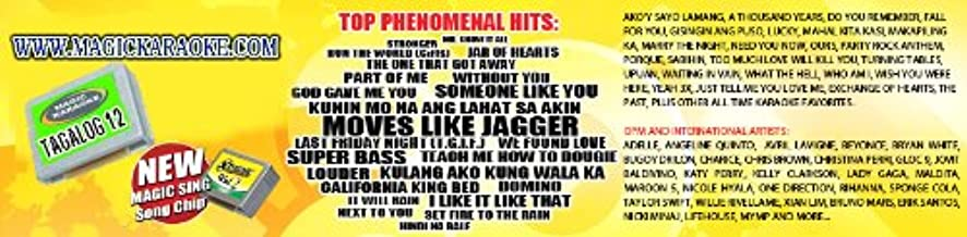 magic sing karaoke mic song chips xtreme 2 200 songs MIX Tagalog English