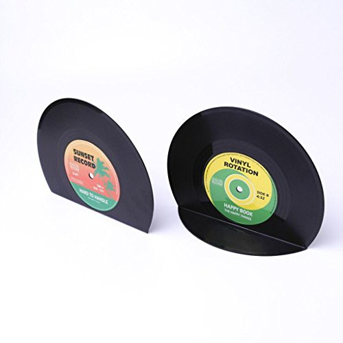 Schreibtischzubehör CD Buchstützen aus Kunststoff