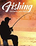 Fishing Calendar 2021-2022: Great 18-month Grid Calendar from Jan 2021 to Jun 2022 for all fans!!!