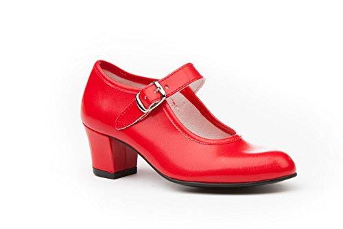 ANGELITOS Zapatos Flamenca Para Niña y Mujer, Mod. 302, Calzado Made In...