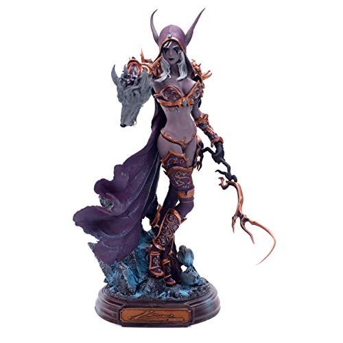 World of Warcraft Sylvanas Undead Queen Statue Windrunner Wow Tribe Figure Decoration Peripheral Static Figure Figure Decoration Girl Doll GK Desktop Model