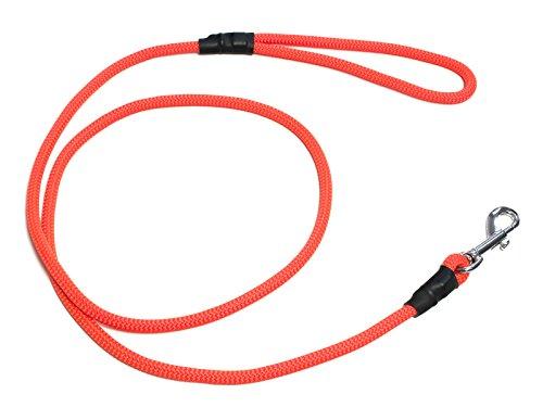 Mystique® FT Leine mit Karabiner 8mm (180 cm, neon-orange)