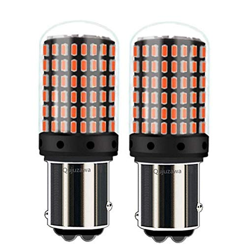 Luces $ luz 2pcs 1157 de P21 / 5W de BAY15D de 2000lm Super Brillante LED de la Cola de la Cola de la Cola de la Bombilla de la señal de Giro automático Lámpara de la señal DIATE Light White Amarillo