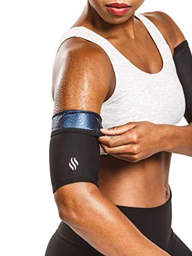 Sweat Shaper Women s Arm Trimmers (Black, X-Large)