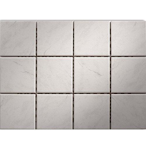 Keramik Mosaik Fliesen Grau Marmoriert Badezimmer Küche Dekor
