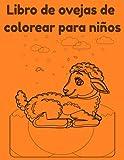 Libro de ovejas de colorear para niños
