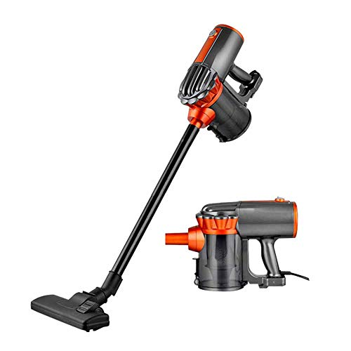 Ting Ting Aspirapolvere Scopa,Aspirapolvere con Manico a Mano Stick Vacuum Cleaner Upright 2 in 1 600 W con filtrazione Multipla e Intaglio