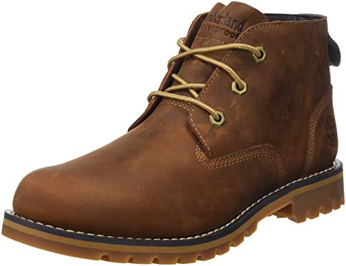 Timberland Herren Larchmont Waterproof Chukka Boots, Braun (Md Brown Full Grain), 43 EU