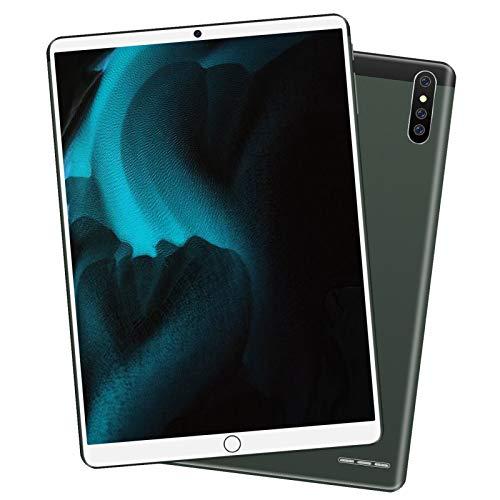 Tablet 10.1 Pulgadas, 1280x800 HD IPS Tablet Android 8.0 con WiFi Bluetooth Procesador 10-Core RAM de 6GB 128GB de Memoria Interna 3 Cámara