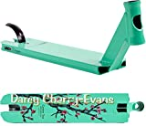 LUCKY Prospect Signature Stunt-Scooter Deck mit Griptape (Darcy Cherry-Evans Türkis 19,5' 49,5cm)