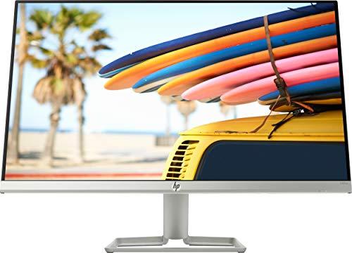 HP 24fw - Monitor Full HD de 23.8' (1920 x 1080, panel IPS LED, 16:9, HDMI 1.4, VGA, 5 ms, 60 Hz, AMD FreeSync, Altavoces incorporados), Color Blanco