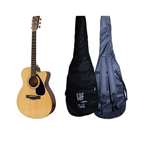 G&F Enterprises Yamaha FS100C Acoustic Guitar (Natural) with Gig Bag, Polishing Cloth, E-book & 1 year official warranty from Yamaha