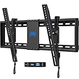 Mounting Dream TV Wall Mount, Low Profile TV Mount for Most 42-70 inch TVs up to 110lbs, Tilting TV Wall Mount with Max VESA 600x400mm, Fits 16-24 inch Studs, Easily Adjust Level after Installation