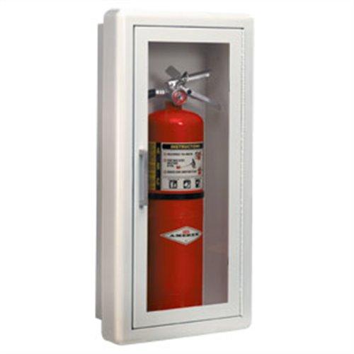 Fire Extinguisher Cabinet Ambassador Series Surface Mount Lock 26.5