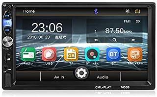 Hitommy 7 Inch 7035B 1024600 Car MP3 MP4 MP5 FM Radio Bluetooth Player photo