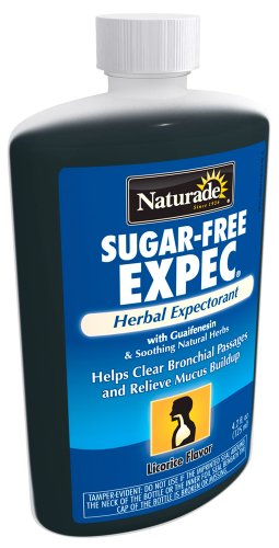 NATURADE, Expec II Herbal Cough Syrup w/Propolis Sugar-Free - 4 fl oz