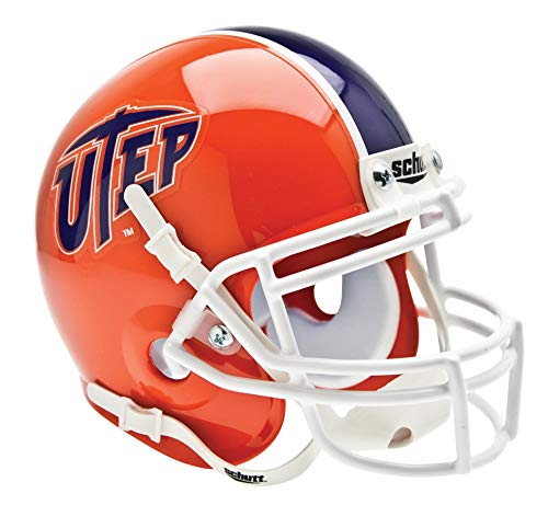 Schutt NCAA Mini Authentic XP Football Helmet, UTEP Miners