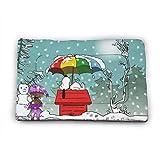Chimmy95 Cartoon Snoopy Hundebett Matte Weiche Kiste Pad Waschbare Anti-Rutsch-Matratze für Hunde und Katzen Zwinger Pad