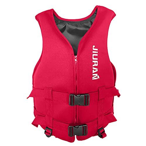 JoyJay Rettungswesten für Erwachsene, Sicherheitszubehör Rettungswesten für Boote, Wassersport Bootfahren Jacke Outdoor-Sport-Weste Erwachsene Jacke leichte Weste Wasser Meer Reisen Schwimmwesten