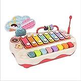 JUNMIN Juguetes para niños Octava Mano Knock en el Piano Baby Puzzle Combo Musical Instrument Music Piano se Puede Jugar