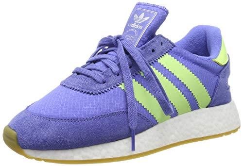 adidas Damen I-5923 Gymnastikschuhe Violett (Real Lilac/Hi/Res Yellow/Ftwr White), 41 1/3 EU
