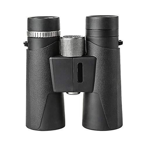 ALEOHALTER Binoculares 12x42 para Adultos Ocular de visión Grande de 18 mm Deportes al Aire Libre Viajes Binoculares compactos de visión débil con Prisma BAK4