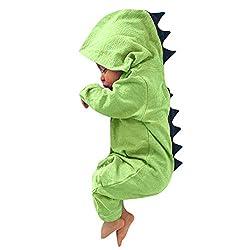 6. SFviwv Baby Dinosaur Romper Onesie