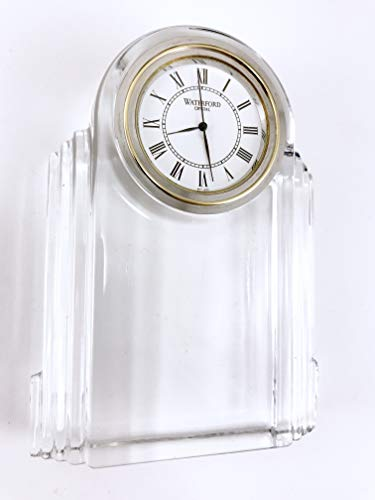 Waterford Crystal Time Pieces Deco Clock
